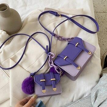 Summer Hit Color Mini Bag Handbag 2020 New PU Leather Crossbody Bags For Women 2020 Shoulder Handbags Travel Cross Body Bag