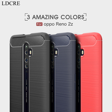цена на For Oppo Reno 2z Case Business Soft Silicone TPU Shell Rubber Soft Protective Phone Case For Oppo Reno 2z Cover For Oppo Reno 2z