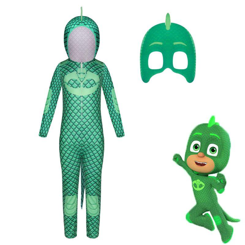 2021 New Halloween children cartoon cat boy costume children hero jumpsuit costume Halloween children costume 2