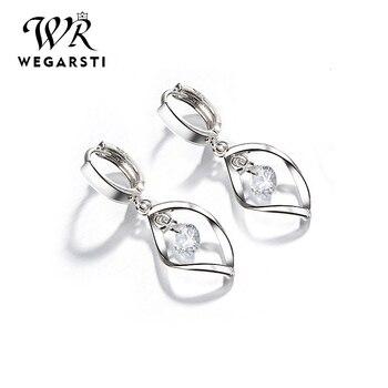 WEGARASTI Silver 925 Jewelry Earrings 925 Sterling Silver Fashion Women Earrings Simple Style Jewelry Gift For.jpg 350x350 - WEGARASTI Silver 925 Jewelry Earrings 925 Sterling Silver Fashion Women Earrings Simple Style Jewelry Gift For Girls Wholesale