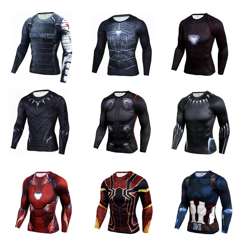 С изображением героев фильма Марвел «мстители», «Человек-паук» и «Железный человек», Капитан Америка футболка с изображением в стиле аниме ...
