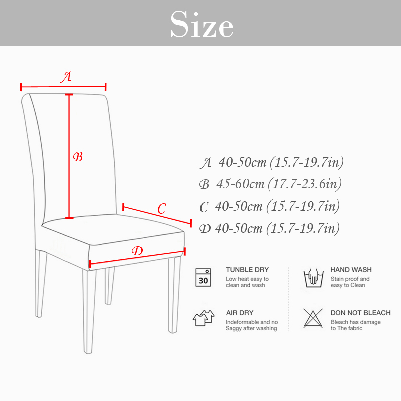Removable Anti-Dirty Seat Chair Cover For Banquet 3 Chair And Sofa Covers