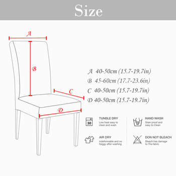 Removable Anti-Dirty Seat Chair Cover For Banquet 8 Chair And Sofa Covers