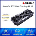 COLORFUL GeForce RTX 2060 GPU Video Graphics Card iGame Vulcan X OC PC Desktop 6GB GDDR6 TU106-200A 192bit PCI-E X16(3.0) OC
