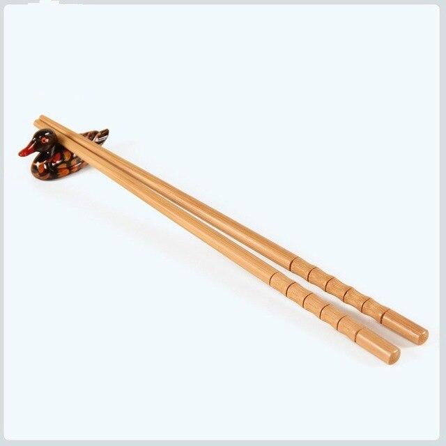 Фото 10 пар ручных палочек для еды из натурального бамбука здоровые цена