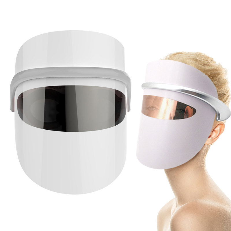 NEW 3 Colors LED Light Therapy Face Mask Anti Wrinkle Firming Skin Rejuvenation Care Led Mask Therapy Face Beauty Tool