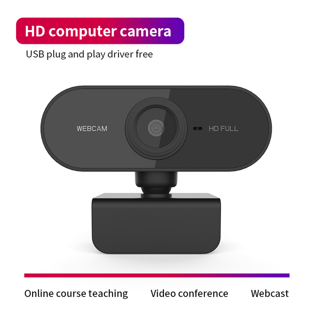 HD1080P Webcam  Video Online CMOS WebCamera 1080P USB Microphone Web Teaching Conference for Household Computer Safety Parts