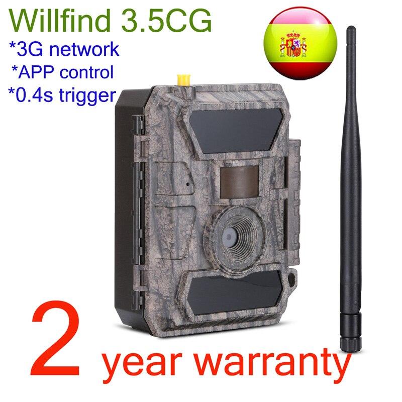 Willfine 3.5CG 3G modèle caméras de chasse IP66 étanche forêt Surveillance sauvage caméras avec APP Remotel contrôle bonne qualité