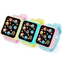 Детские милые часы, игрушки, развивающие часы, 3D сенсорный экран, музыкальная игрушка для малышей, интеллектуальный обучающий инструмент, детский горячий подарок на день рождения