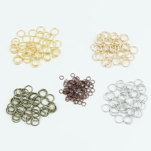 Jump-Rings Making-Accessories Jewelry Finding Wholesale-Supplies Diy Silver Connectors