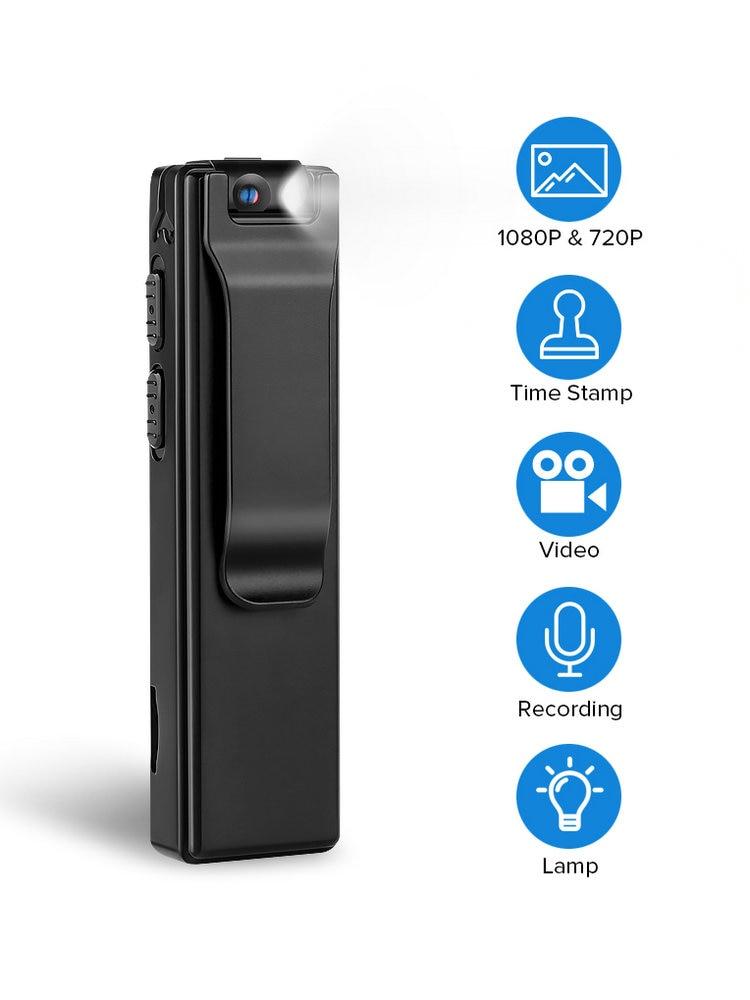 Vandlion Body-Camera Snapshot Digital Magnetic-Motion Mini Flashlight-Loop