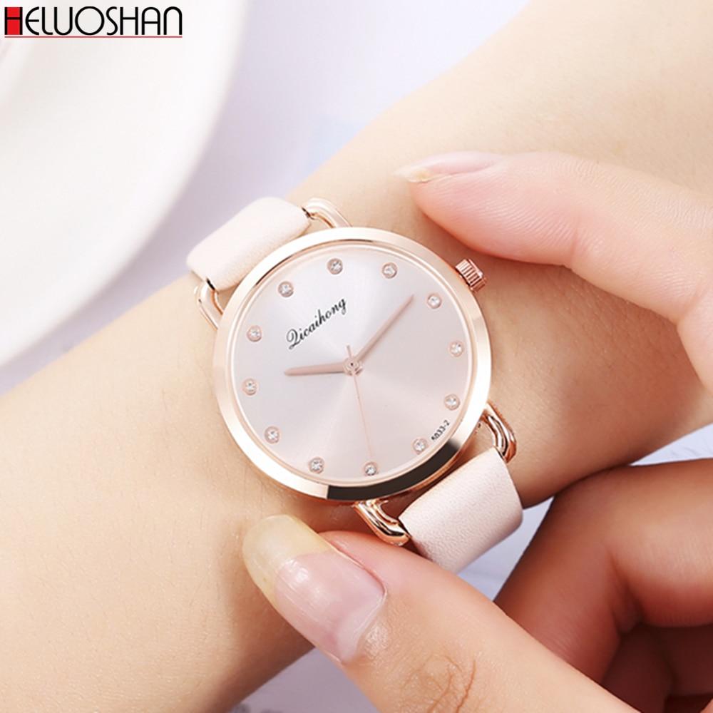 Luxury Women Wristwatch Casual Style Watches High Quality Classic Leather Ladies Quartz Watch Relogio Feminino Dames Horloges
