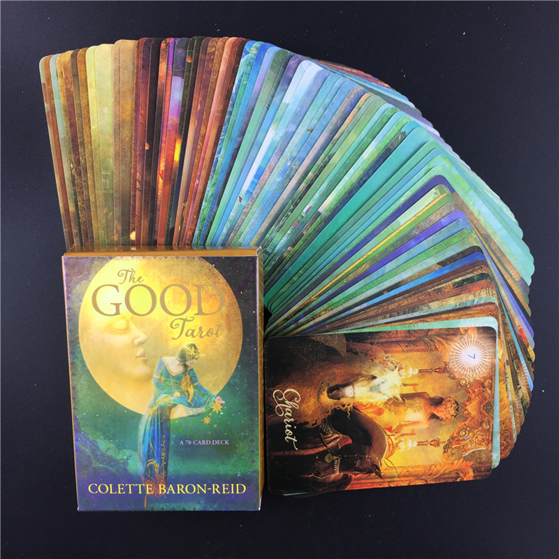 The Good Tarot Cards Colette Baron-Reid  Card Deck & Book Board Game For Party Home Gift Entertainment