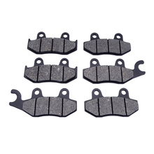 1Set Motorcycle Replacement Part Kit Front & Rear Brake Pads For SUZUKI AN250 AN 250 1998-2002 AN400 400 X/Y K1-K6/SK6 1999-2006 for suzuki gsf1200 96 00 motorcycle front and rear brake pads set