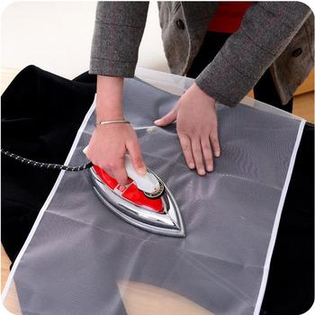 90x40cm tkanina do prasowania odporna na wysokie temperatury podkładka do prasowania pokrywa domowa izolacja ochronna przed prasowaniem płyty Pad tkanina z siateczki tanie i dobre opinie Składane polyester HA1756-00B High Temperature Resistance Ironing Pad