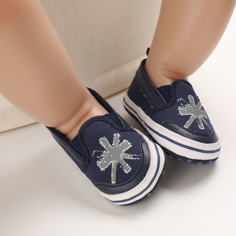 Canvas Baby Boys Shoes Breathable Anti-Slip Casual Sneakers Toddler Soft Soled Walking Shoes Autumn1