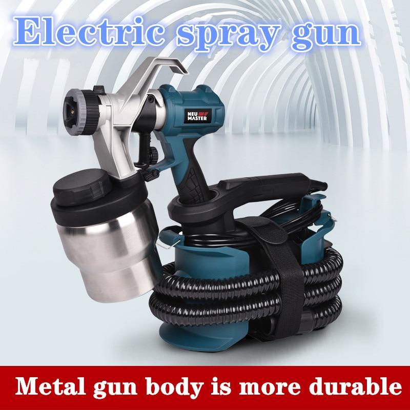 220V 800W High Pressure Electric Spraying Gun For Automobile Spraying Gun Spraying Machine For Autom /home