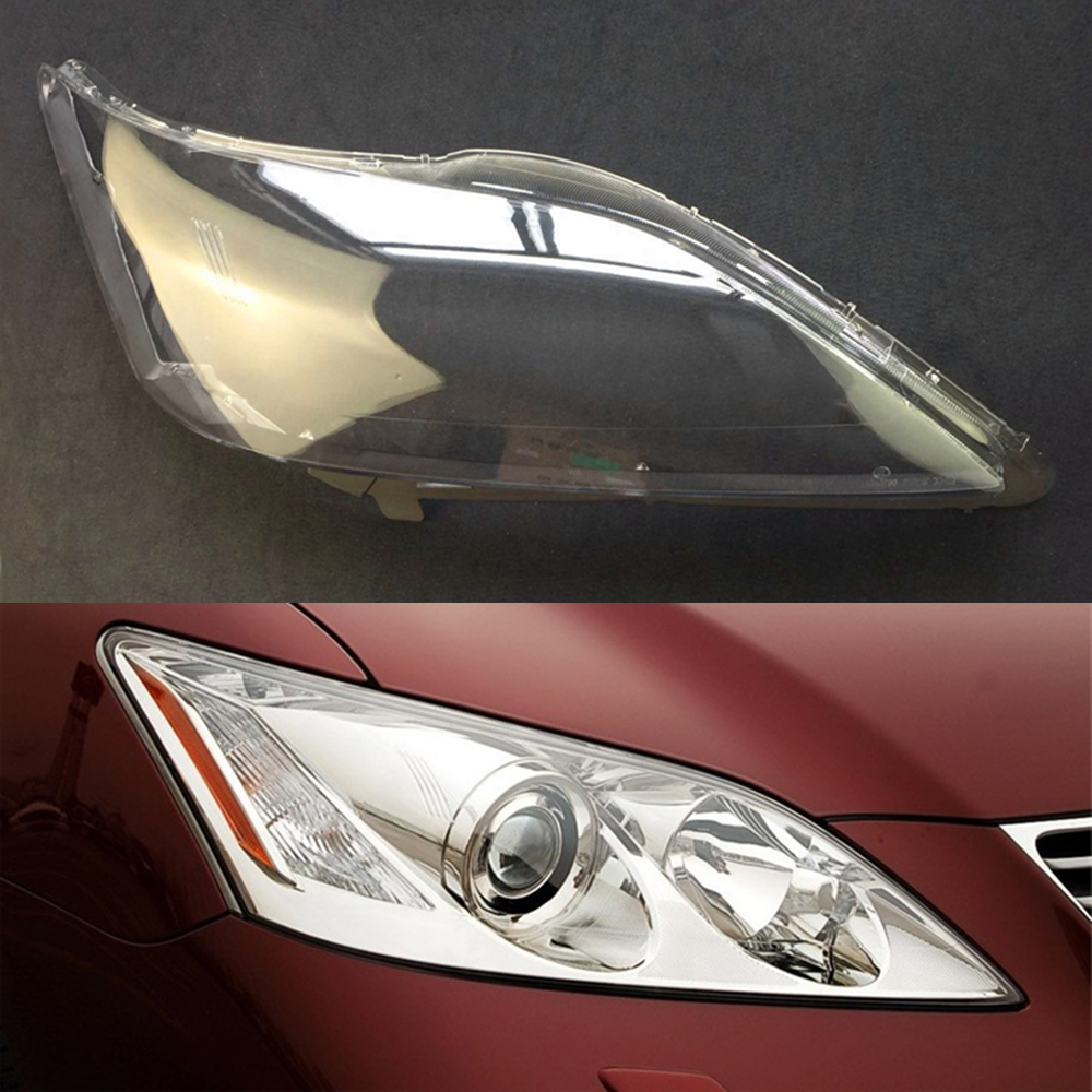 Car Headlight Lens For Lexus ES350 2006 2007 2008 Car Headlight Headlamp  Lens Auto Shell Cover