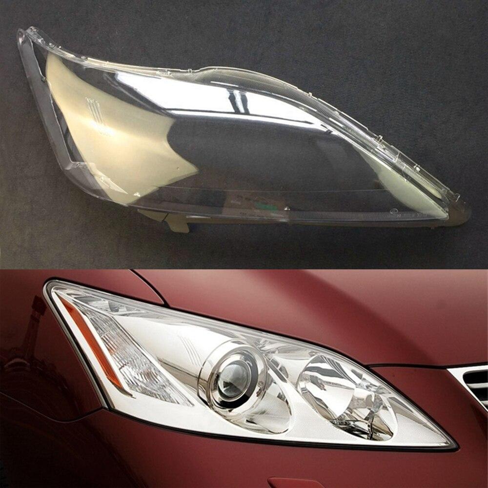 Car Headlight Lens For Lexus ES350 2006 2007 2008 Car Headlight Headlamp  Lens Auto Shell Cover