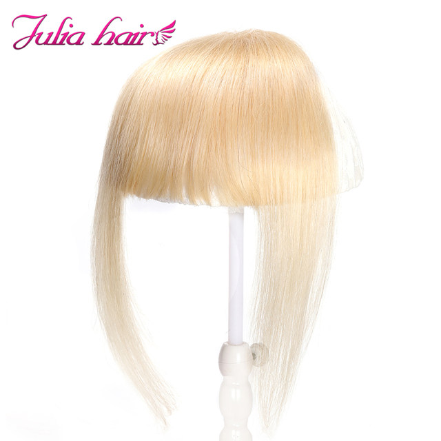 Ali Julia Air Bangs For Women Clip In Hair Extensions Brazilian Human Hair Bangs Remy Replacement Fringe Hairpiece (11)