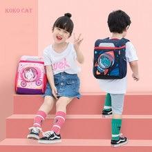 Объемный школьный рюкзак с динозавром, кроликом и объемным рисунком, Водонепроницаемый Школьный рюкзак для мальчиков, подарок для детей