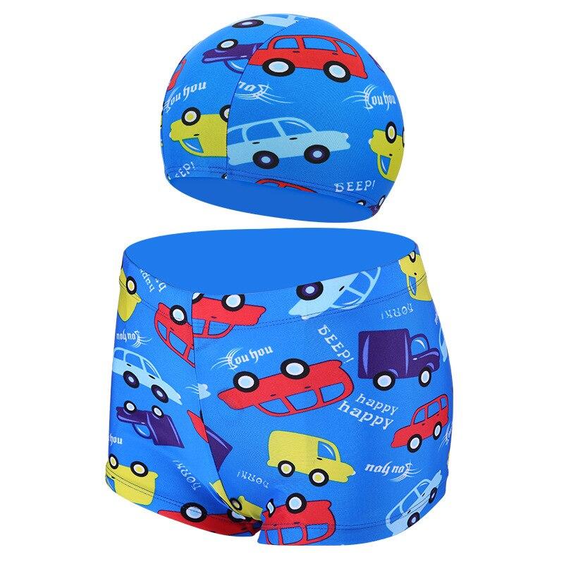 CHILDREN'S Swimming Trunks Hooded Men's Big Kid Bubble Hot Spring Boxer Swimming Trunks South Korea Cartoon Baby CHILDREN'S Swim