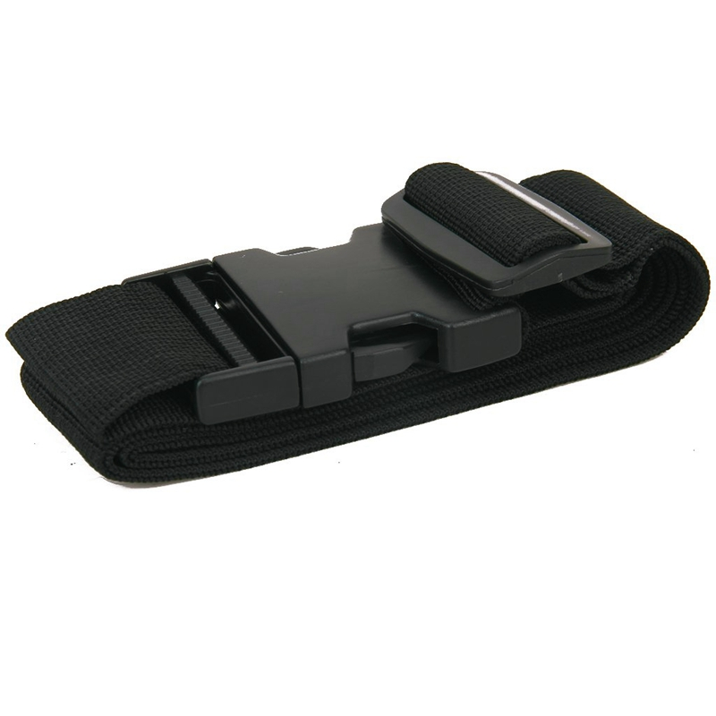 NEW-Packing Belt Suitcase Strap Safety Strap - Black