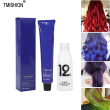 Pomades Hair-Dye Styling-Hair Double-Oxygen Wax DIY Cosplay with Milk 100ml Cream-Dye-Mud