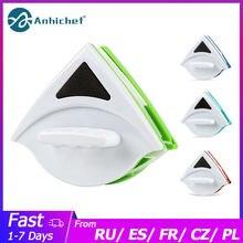 Szczotka do czyszczenia dwustronnie magnetyczna szczotka do szyby do czyszczenia okien urządzenia do oczyszczania domowego magnetyczne urządzenie do czyszczenia okien wycieraczka do szyb