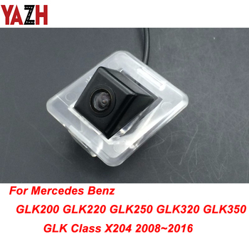 YAZH HD CDD Car Camera Waterproof Night Vision For Mercedes Benz GLK Class X204 2008~2015 GPS Rear View Reversing Backup Camera image