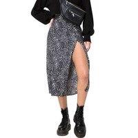 Leopard black Skirt