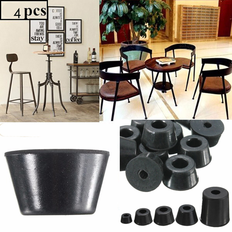 8pcs Rubber Machine Feet Instrument Base Protector Pad Furniture Tables Chair Conical Increase Mat Anti-noise Damping Foot Cap