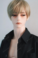 1/3 scale ZAK (open eyes head) handsome male dolls 72cm body resin figures model toys free eyes
