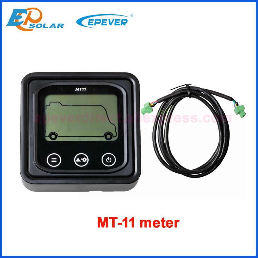 EPEVER MT-11Remote miernik do DR1206N DR2210N DR3210N nowy DuoRacer serii kontroler ładowania Duo regulator baterii PT-ADP-PORT