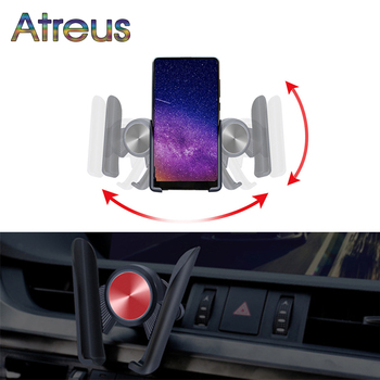 Car Mobile Air Vent Stand Mount GPS Phone For Nissan Qashqai J10 J11 Juke X trail T32 Hyundai I30 Tucson Solaris Creta 2018 2019 image