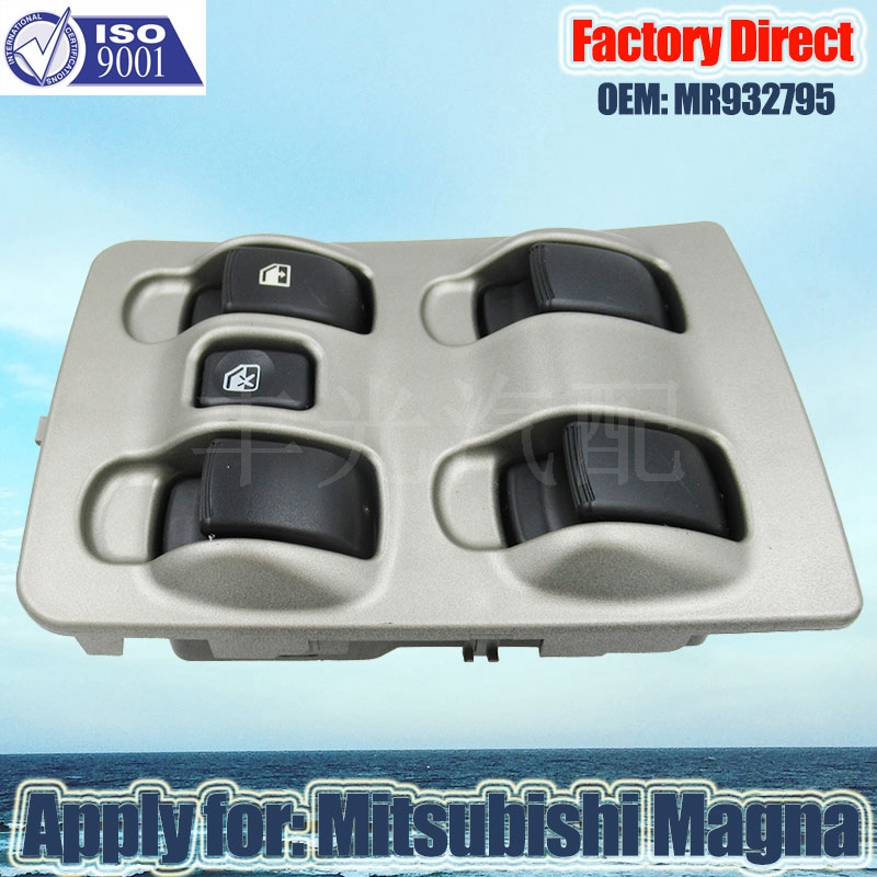 Factory Direct Auto Electric Power Window Switch apply For <font><b>Mitsubishi</b></font> Magna <font><b>Mirage</b></font> 03-05 Auto Power Left Switch 4 <font><b>Door</b></font> MR93279 image