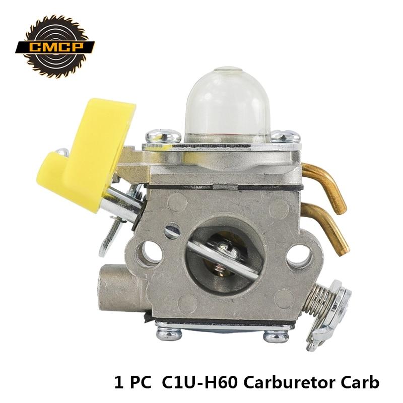 1pc Brand New C1U-H60 Carburetor Carb For Ryobi Homelite 308054034 308054003 308054028 308054015 Brush Cutter Carburetor