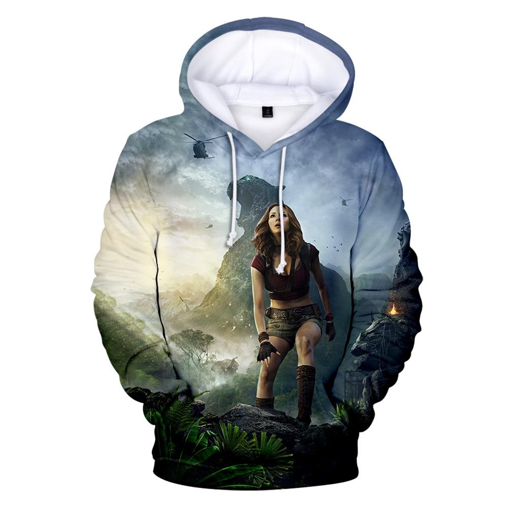 The Next Level Movie 3D Print Hoodie Casual Sweatshirt New Men Women Jumanji