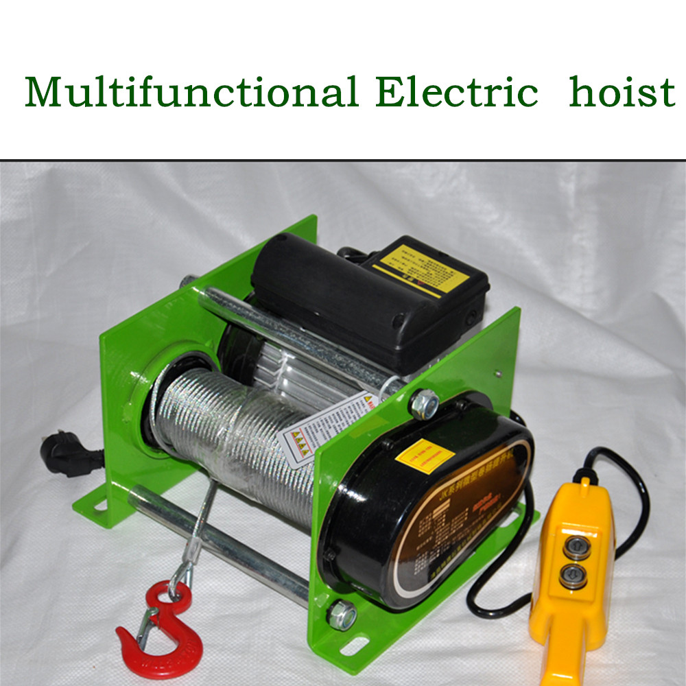 220/380V 200-1000kg 30m Electric Hoist Household Small Crane  Multi-function Hoist Small Winch
