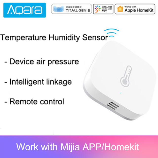 New Original Aqara Temperature Humidity Sensor Smart Home Device Air Pressure Work With Android IOS APP Fast Ship