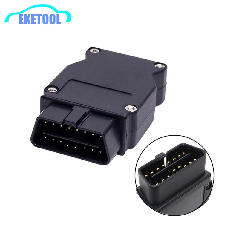 OBD Plug Adapter For BMW ENET Ethernet To OBD2 16Pin Connector Plug For BMW Cars ESYS ICOM Coding Interface Fits BMW OBD2 Cable