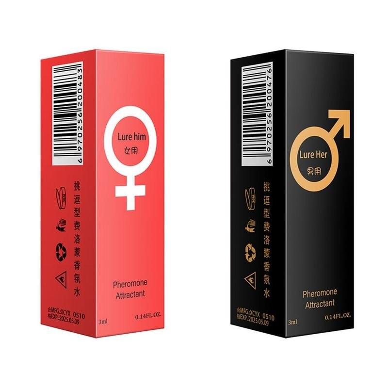 Pheromone Parfüm Mann Frauen 3ml Elegante Romantische Anhaltenden Frischen Duft frauen Versuchung Charming Pheromone Parfüm