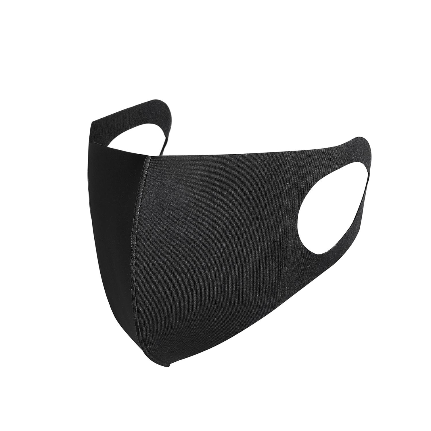 Nano-polyurethane Black Mouth Mask Anti Dust Mask Breathable And Washable For Children Bacteria Proof Flu Face Masks
