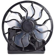 Солнечный вентилятор с зажимом маленький электрический портативный