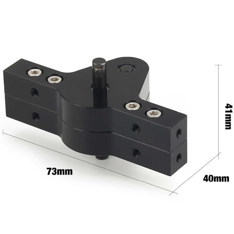 CNC алюминиевый корпус передачи коробка передач для D90 D110 SCX10 RC4WD RC автомобиль сканеры грузовики устройство связи двух локальных сетей RC автомобильная часть запасных компонентов