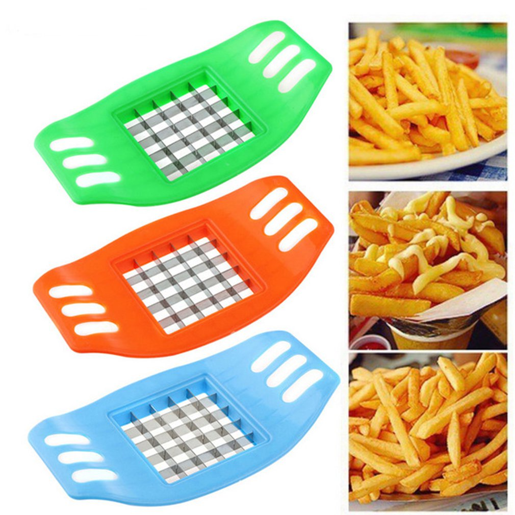 Practical Potato Slicer Cutter French Fry Chopper Potato Household Cutting Kitchen Gadgets Kitchen Vegetable Useful Tools
