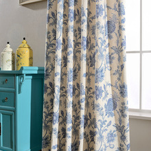 Modern Curtains for Living Dining Room Bedrooms SimpleStyle High-quality Exquisite Polyester Cotton Printing MordenTulle Curtain
