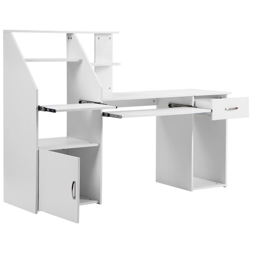 Многофункциональный компьютерный стол с корпусом простой настольный стол современный экономичный стол для студентов спальня письменный стол #3