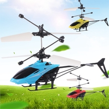 new Mini Drone Helicopter LED Flashing Light Infraed Induction Dron Kids Toys Aircraft USB Remote Control Toy Boy Gift global drone 2ch remote control spaceman helicopter induction aircraft toy helicopter drone indoor children gift toys