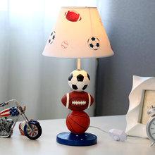 Modern Desk Lamp Children Basketball Soccer Home Deco Study Football Table Lamps for Living Room Bed Bedside Bedroom Table Light цена 2017